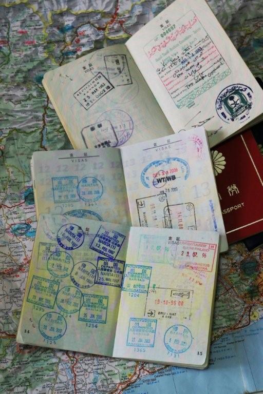 1年の計は元旦? 堀内広治氏「過去のパスポート」