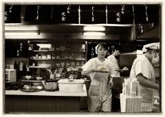 NOSTALGIC JAPAN ③「天ぷら定食ふじしま」 福岡県北九州市小倉