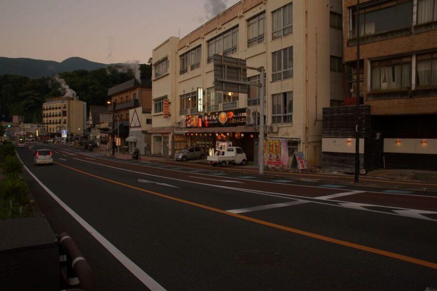 小浜温泉街